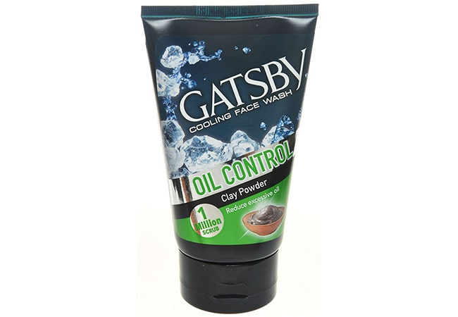 Gatsby Cooling Face Wash Oil Control With Clay Powder
