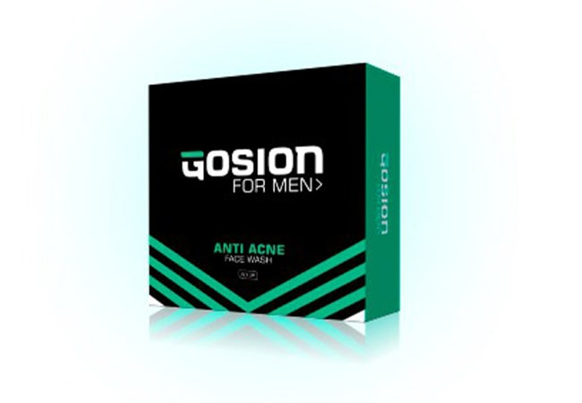 Gosion Soap for Men Anti Acne Face Wash