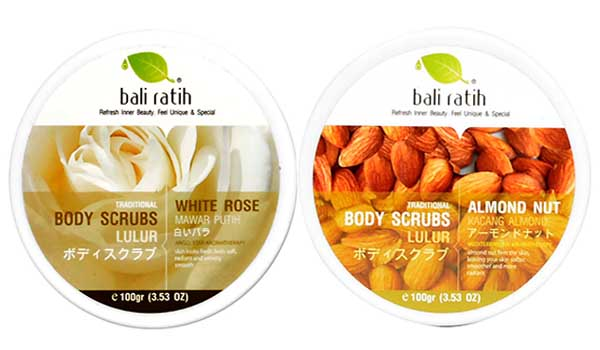 Body Scrubs Cream Bali Ratih, lulur yang dapat memutihkan kulit, lulur murah, lulur alami