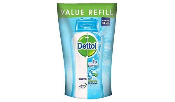 Sabun Mandi Cair Terbaik, Dettol Pouch Cool Body Wash