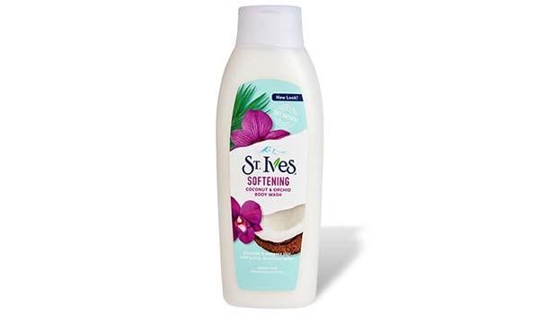St. Ives Softening Coconut & Orchid Body Wash, Sabun Mandi Cair Terbaik