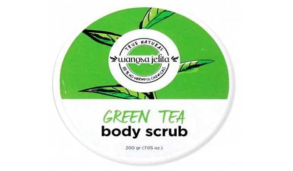 body scrub lokal yang bagus, Wangsa Jelita Green Tea Body Scrub