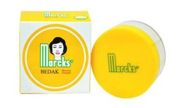 bedak marcks active powder