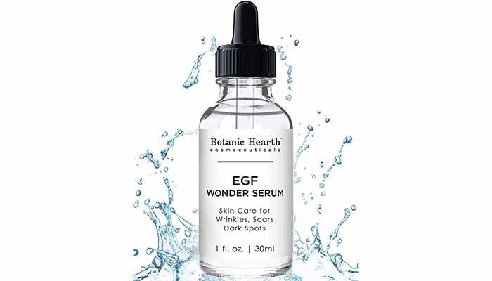 Botanic Hearth EGF Wonder Serum, serum untuk parut jerawat