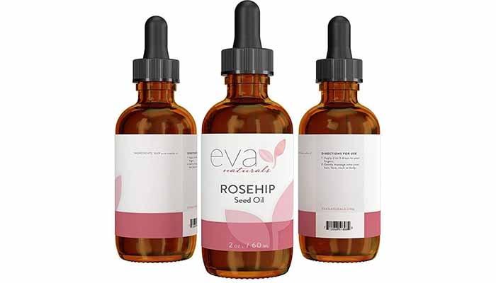 serum untuk parut jerawat, Eva Naturals Pure Rosehip Seed Oil