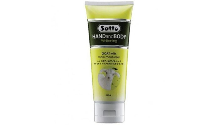 Hand and Body Lotion Whitening Goat Milk Triple Moisturizer