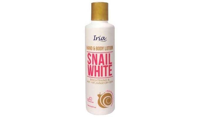Iria Hand & Body Lotion Snail White