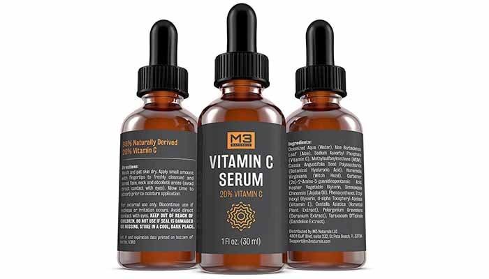 serum untuk parut jerawat, M3 Naturals Vitamin C Serum