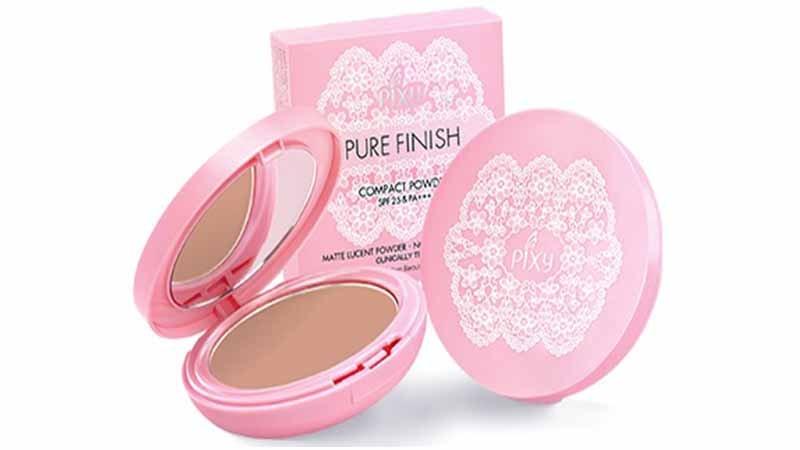 PIXY Compact Powder Pure Finish, Base Makeup PIXY