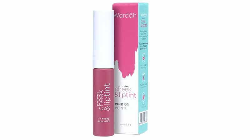 Produk Lipstik Wardah,Wardah Everyday Cheek And Lip Tint