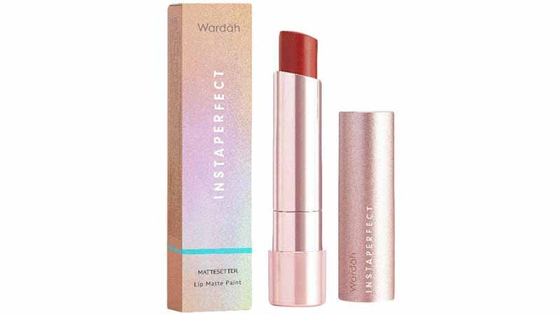 Wardah Instaperfect Mattetitude Matte Stain Lipstick, Produk Lipstik Wardah