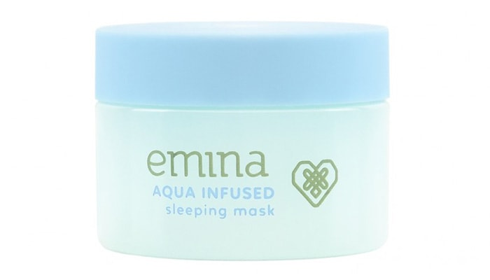 Emina Aqua Infused Sleeping Mask, produk skincare emina untuk wajah