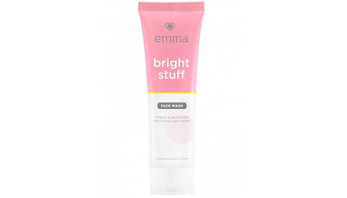 Emina Bright Stuff Face Wash, skincare pembersih wajah emina