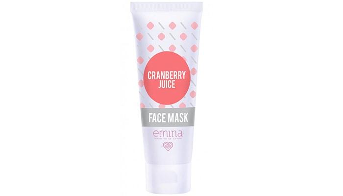 Emina Cranberry Juice Face Mask, produk masker wajah emina terbaik