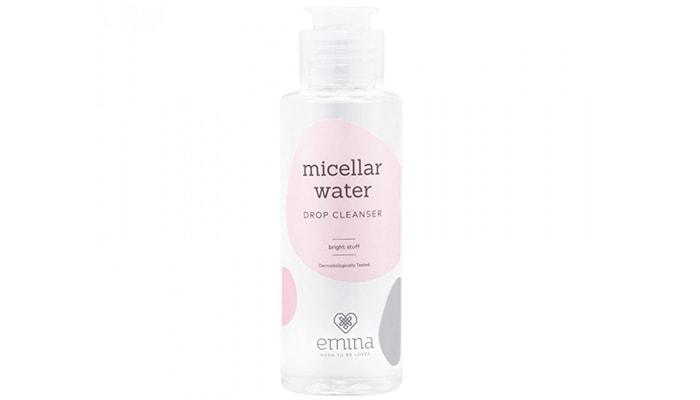 Emina Micellar Water Drop Cleanser Bright Stuff, skin care emina pembersih wajah