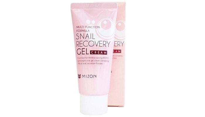 Mizon Snail Recovery Gel Cream Anti Wrinkle Cream, manfaat snail cream