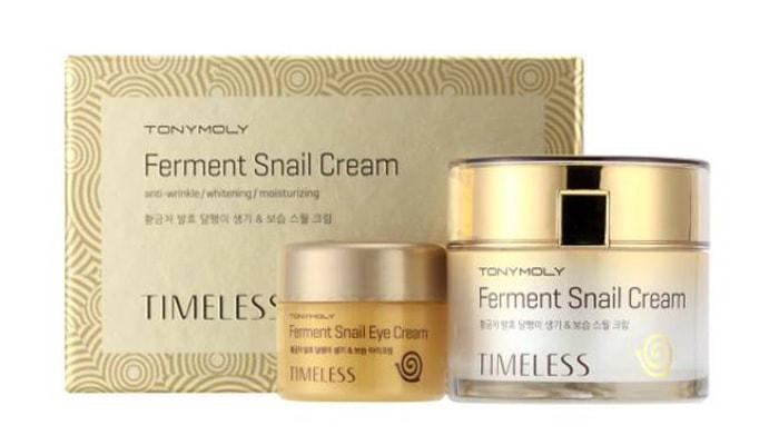 snail cream korea terbaik, TonyMoly Timeless Ferment Snail Cream