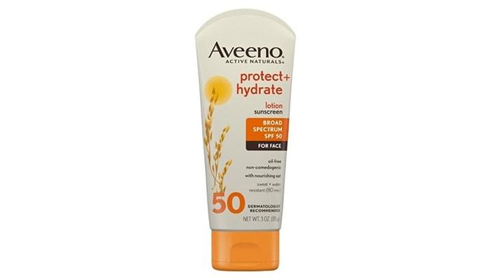 Aveeno Active Naturals Protect Hydrate, sunscreen harga mahal terbaik