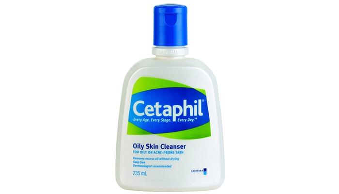 Cetaphil Oily Skin Cleanser, pencuci wajah berjerawat terbaik