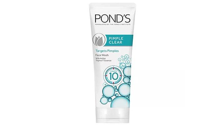 Ponds Acne Clear Facial Foam, sabun terbaik untuk wajah berjerawat