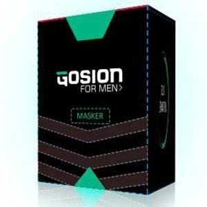 Gosion Mask Treatment, masker wajah berjerawat untuk pria