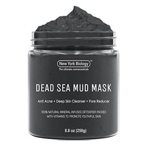 New York Biology Dead Sea Mud Mask, masker wajah untuk pria mengecilkan pori-pori