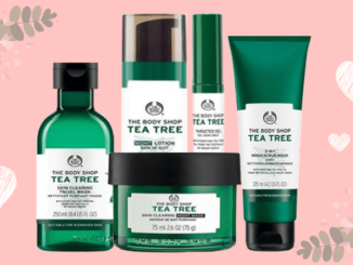 The Body Shop uantuk kulit berjerawat