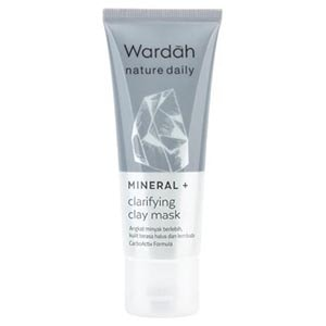 Wardah Nature Daily Mineral+ Clarifying Clay Mask