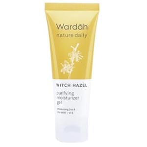 Wardah Nature Daily Witch Hazel Purifying Moisturizer Gel