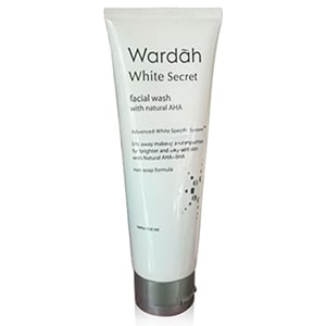 Wardah White Secret Facial Wash with AHA