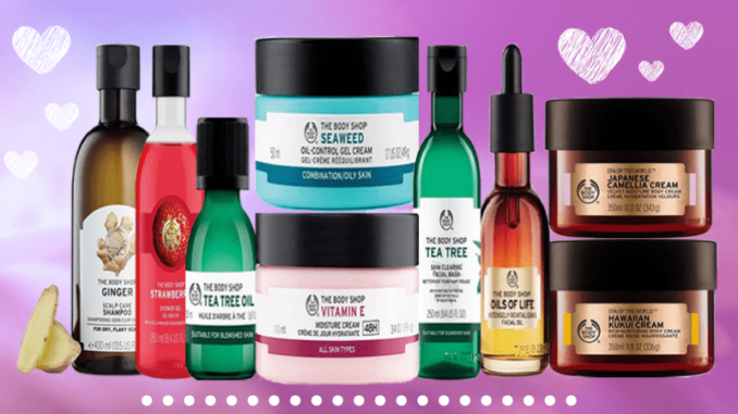 produk the body shop terbaik