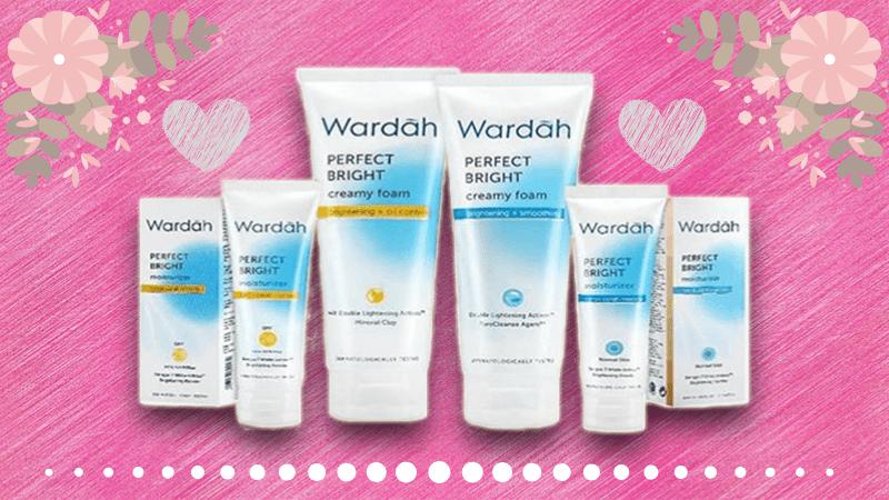Wardah Perfect Bright Series Rangkaian Skin Care Pencerah Wajah