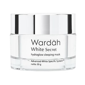 wardah whitesecret sleeping mask