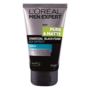 LOreal Men Expert Pure & Matte Charcoal Black Foam