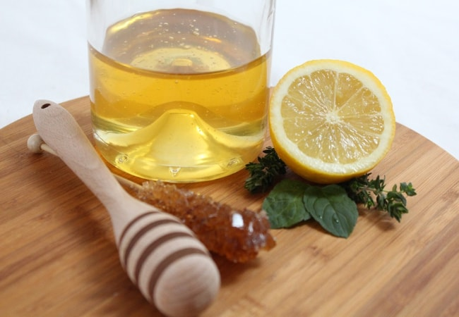 masker wajah madu dan lemon