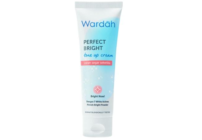 Wardah Perfect Bright Tone Up Cream, Krim Wardah Untuk Memutihkan Wajah