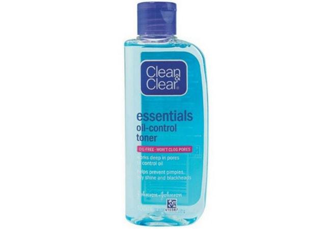 Clean And Clear Essentials Oil Control Toner, toner untuk kulit berminyak