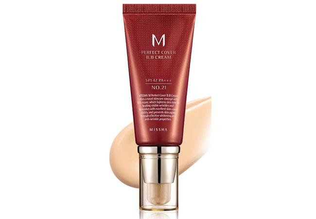 Missha Perfect Cover BB Cream, BB cream kulit berminyak