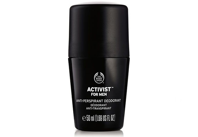 The Body Shop Activist Anti-Perspirant Deodorant, deodorant terbaik untuk keringat berlebih