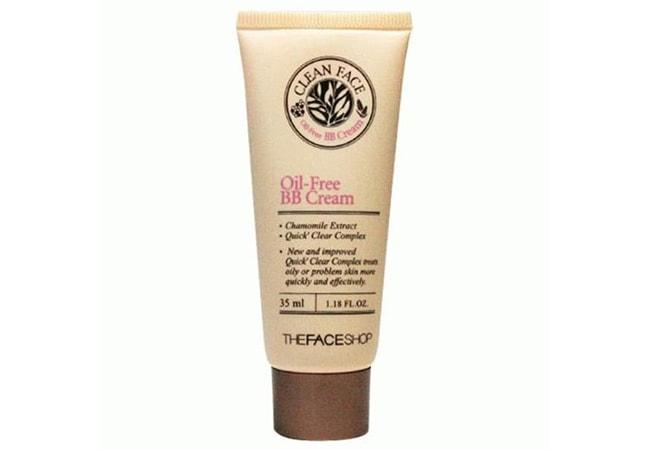The FACE Shop Clean Face Oil Free BB Cream