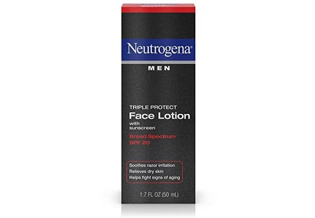 Neutrogena Men Triple Protect Face Lotion
