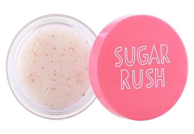 Emina Sugar Rush Lip Scrub, exfoliator yang bagus