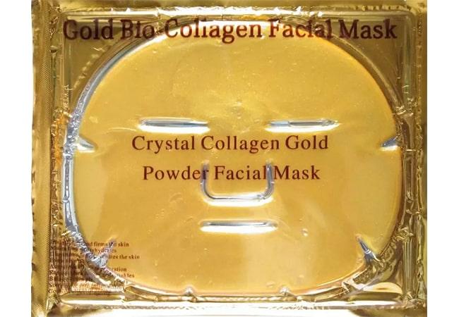 Gold Bio Collagen Facial Mask Crystal
