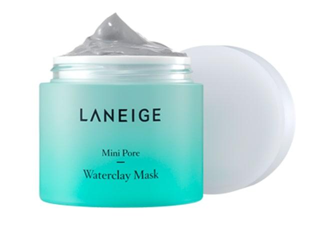 Laneige Mini Pore Waterclay Mask, masker wajah terbaik untuk pori-pori