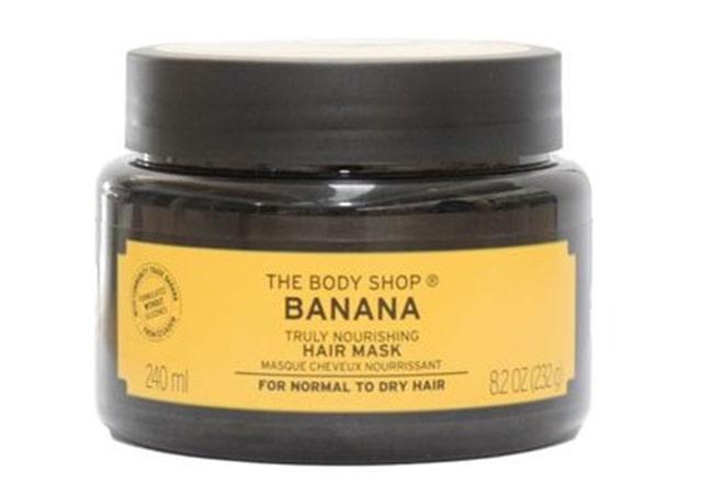 The Body Shop Banana Truly Nourishing Hair Mask-min