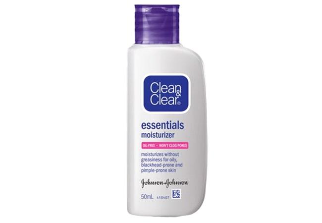 Clean And Clear Essentials Moisturizer, pelembab berbahan dasar air