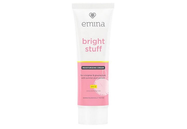 Emina Bright Stuff Moisturizing Cream, moisturizer untuk kulit kering