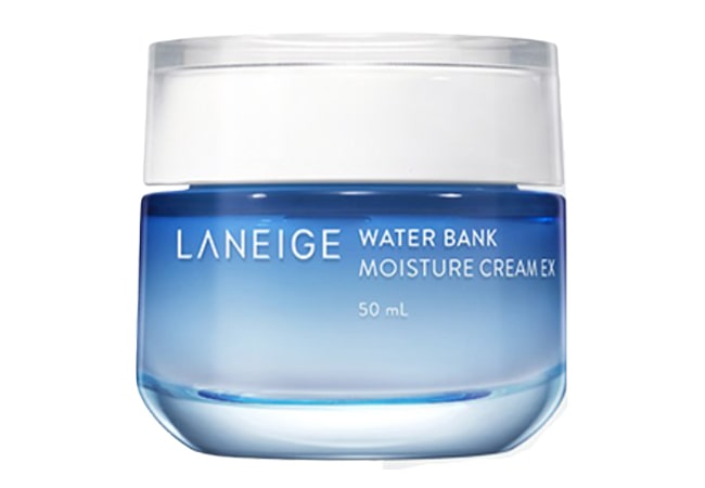 Laneige Water Bank Moisture Cream EX, pelembab berbahan dasar air