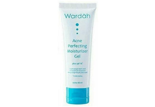 Wardah Acne Perfecting Moisturizer Gel, rekomendasi pelembab untuk kulit berminyak