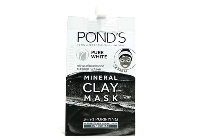 Ponds Pure White Mineral Clay Mask